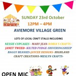 VILLAGE CRAFT FAIR – SUNDAY 23RD OCTOBER – VILLAGE GREEN