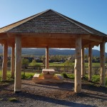 Shelter at the Riverside Park has been completed.
