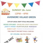 Village Craft Fair – Sunday 18th June