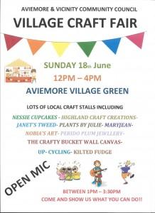 June 17 craft fair