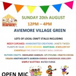 Village Craft Fair  –  20th August 2017