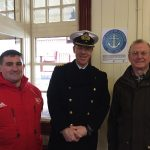 JELLICOE PLAQUE UNVEILED AT AVIEMORE RAILWAY STATION